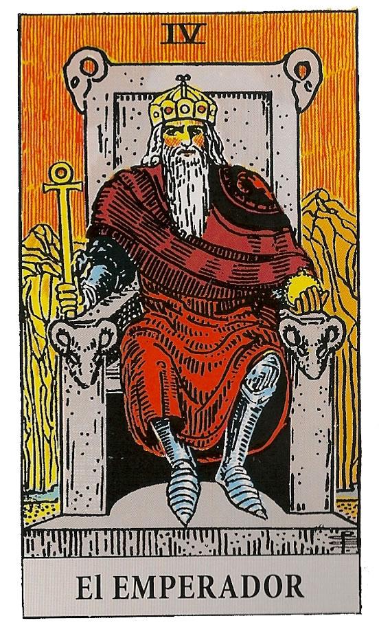 El Emperador - Arcano Mayor 4 - Tarot